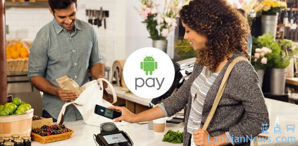 Google在美国启用Android Pay移动支付服务