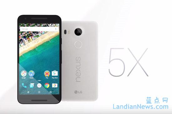 Google发布Nexus 5X/6P:售价2400元起 现已可预定