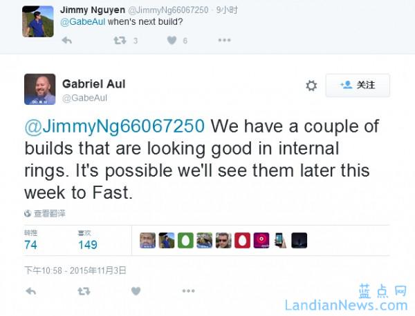Gabriel Aul:本周极有可能向Windows Insider发布新的Windows 10测试版本