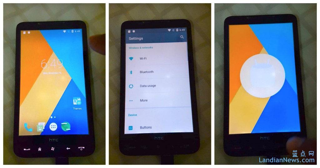 XDA的开发者为六年前发布的机皇HTC HD 2刷入了Android 6.0
