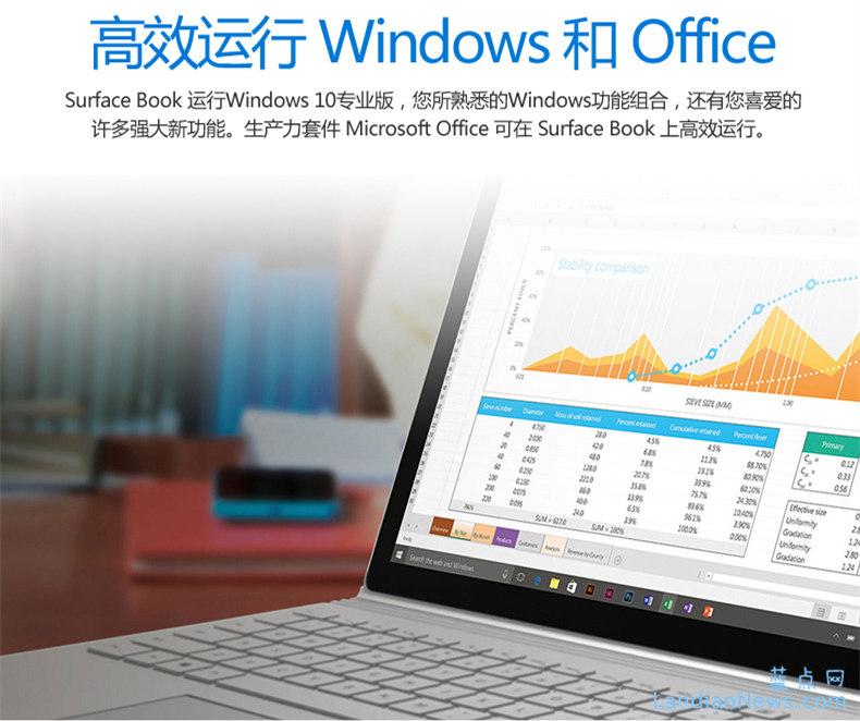 今晚零时微软中国开启全渠道Surface Book预定 11088元起售