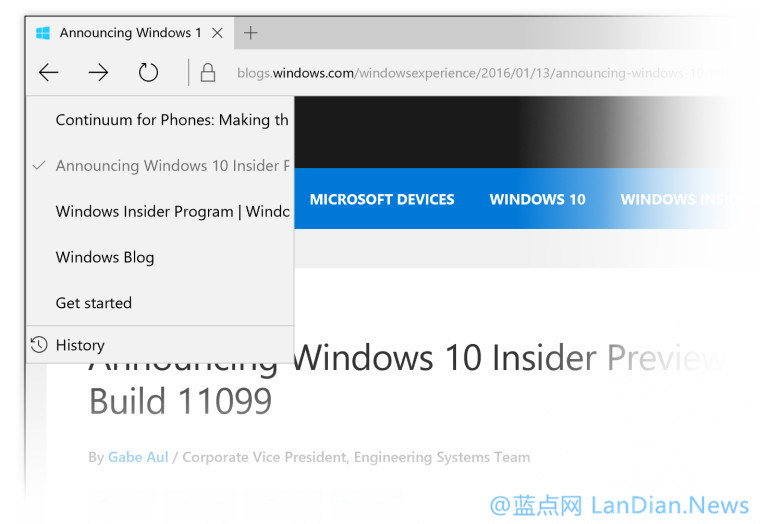 微软向Windows Insider用户推送Windows 10 Build 11102版更新