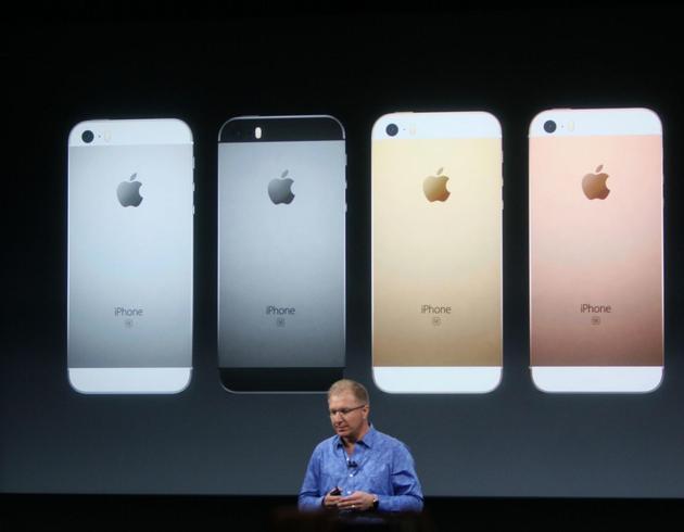 苹果春季新品发布会发布iPhone SE和9.7英寸版的iPad Pro