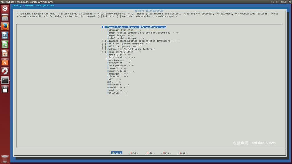 OpenWRT开源路由器固件定制和编译的一些操作方法