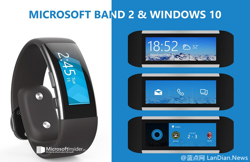 Microsoft Band 2目前已经支持连接Android版的Cortana