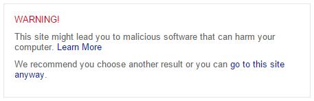 Bing搜索为了警告用户开始为恶意网站提供更详细的标记信息