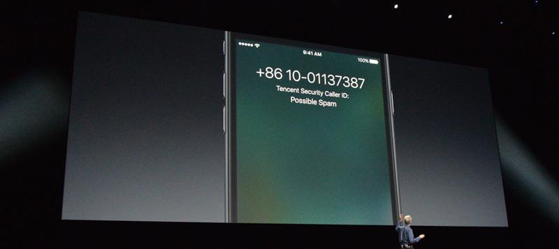 苹果将为中国区的iOS用户加入骚扰电话识别功能-第1张