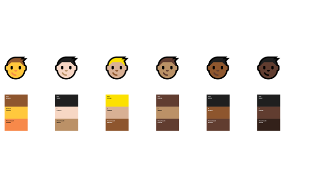 Windows 10 周年更新重新设计了超过1700个emoji表情