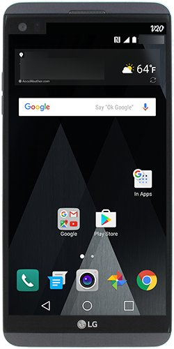 Evleaks放出搭载Android 7.0 Nougat的LG G20正面图