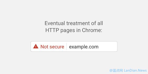 Google Chrome v56版开始将含有密码和支付的HTTP页面标记不安全