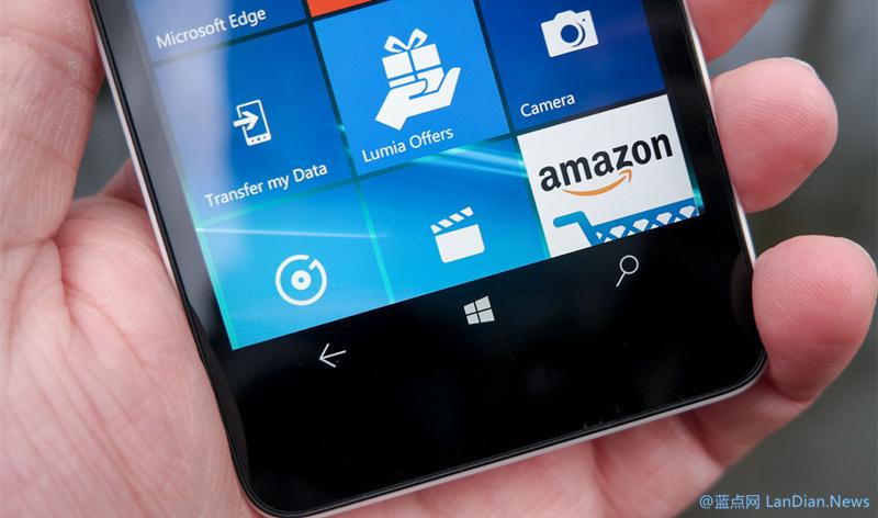 微软为Lumia 550推出新版本固件 修复大量影响使用的问题