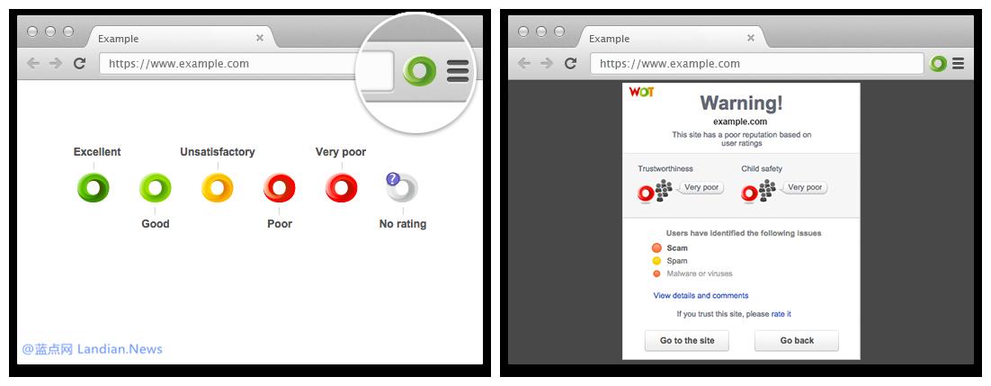 Google和Mozilla相继移除Web of TrusT间谍扩展