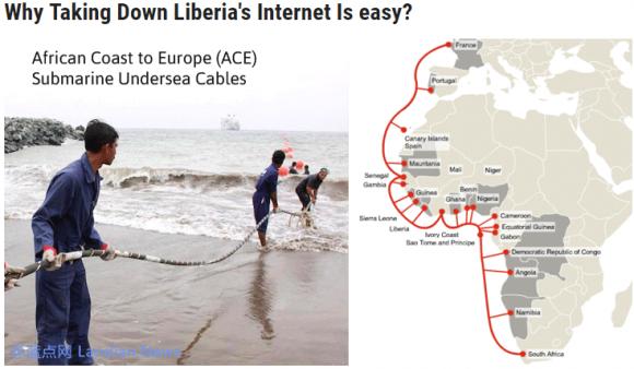 黑客再利用Mirai发起攻击 几乎让利比里亚全国下线