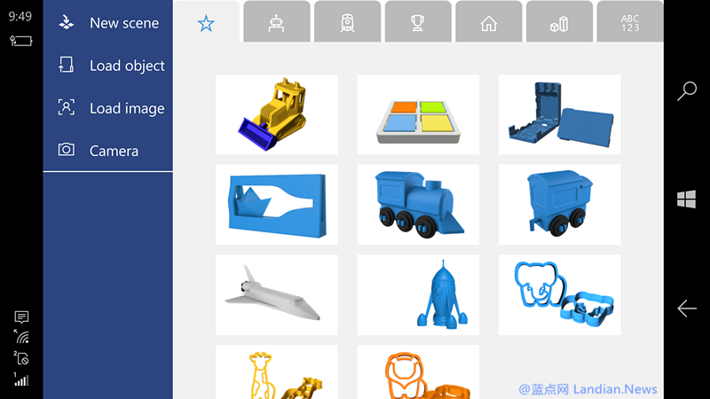 微软推出3D Builder允许用户在移动设备上创建3D内容