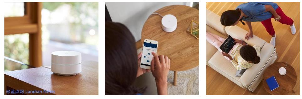 Google WiFi智能路由器开始销售 单个售价888元