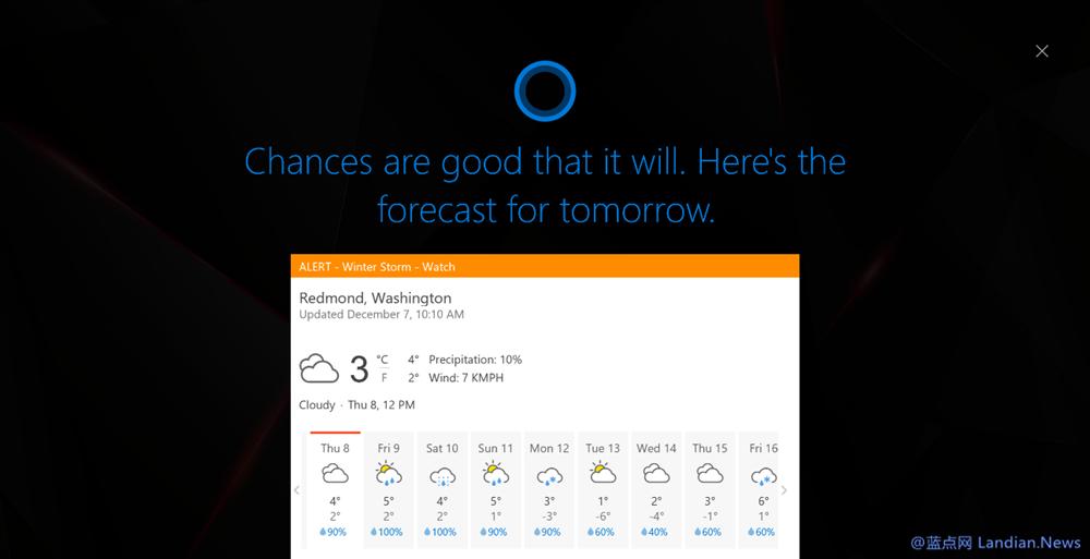 微软开始向Slow Ring推送Windows 10 Build 14986版更新