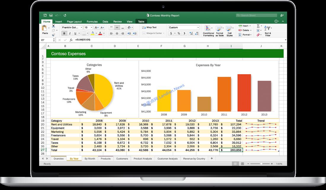 Office 2016 for Mac预览版v15.29现已开始推送