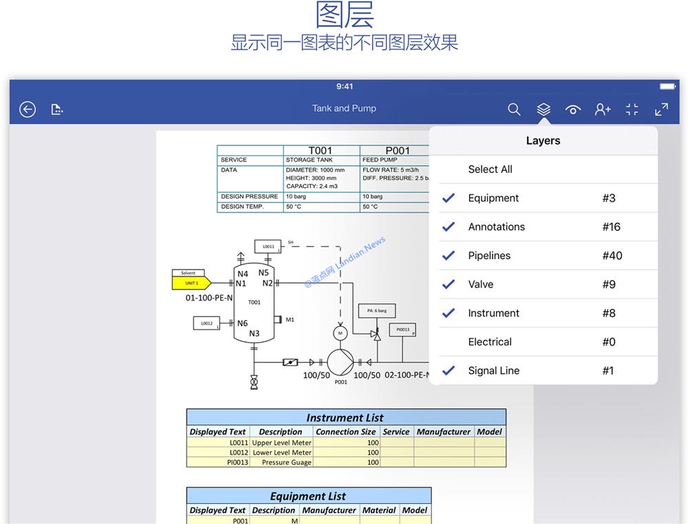 iPad版的Visio Viewer发布:移动端也能查看Visio文档啦