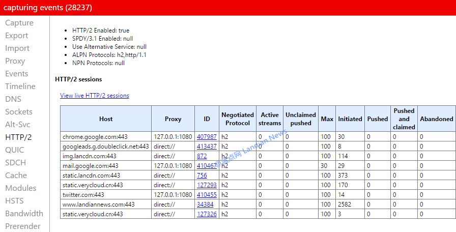 [开发者] 连接类型检测工具 支持对HTTP/2和SPDY等