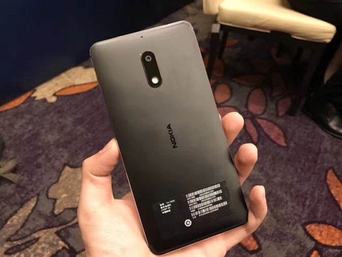 HMD发布搭载Android 7.0的Nokia 6 国内售价1699元