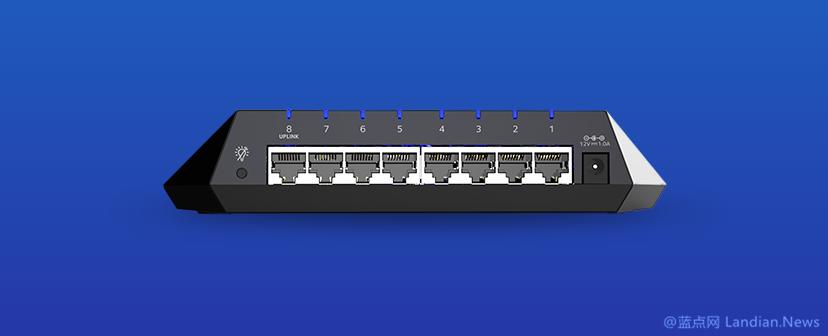 网件推出外形酷似飞船的千兆级八口交换机Nighthawk S8000