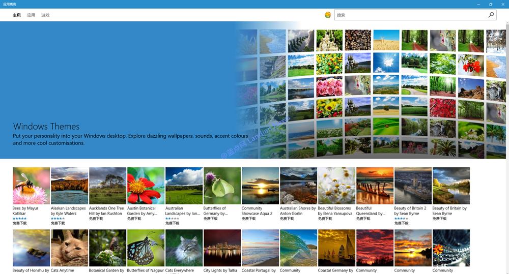 Windows 10 Build 15007版已新增主题设置选项