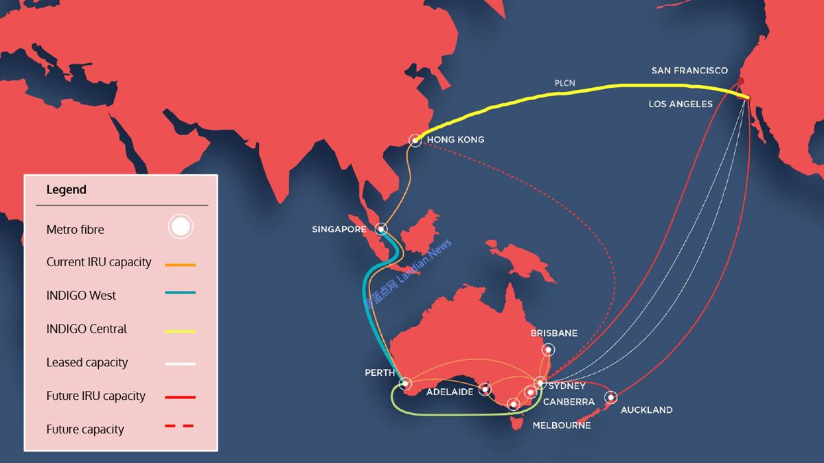 澳大利亚运营商确认珀斯至新加坡海底光缆断裂