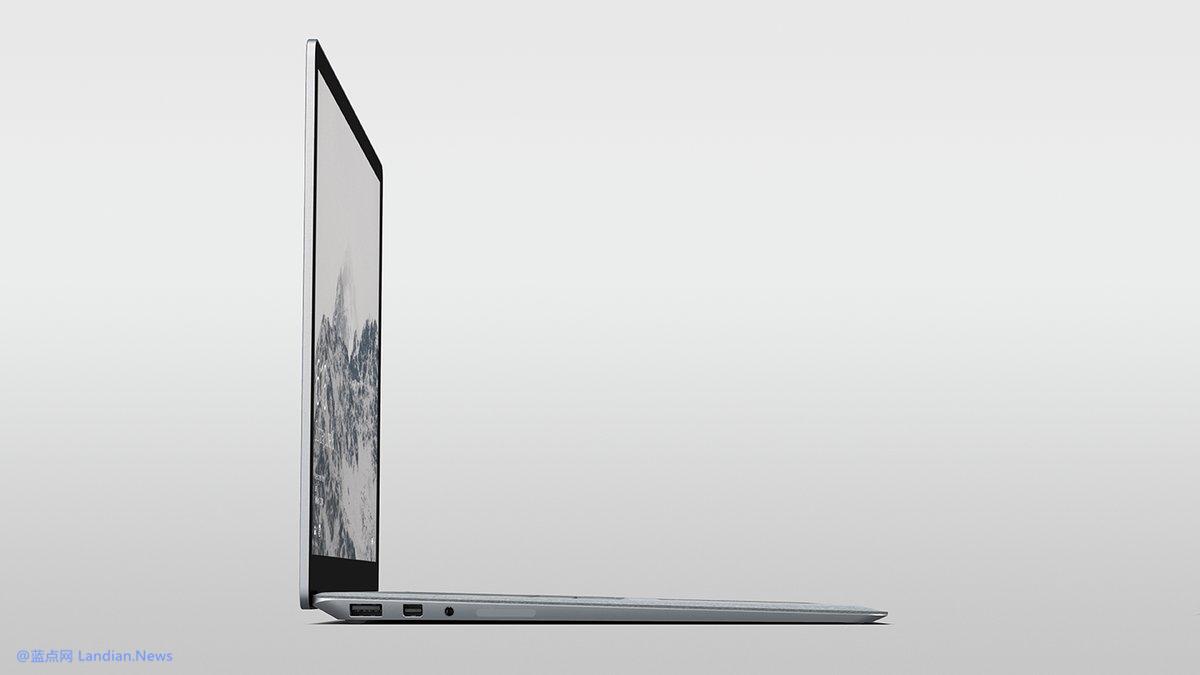 微软即将发布的新硬件Surface Laptop渲染图曝光