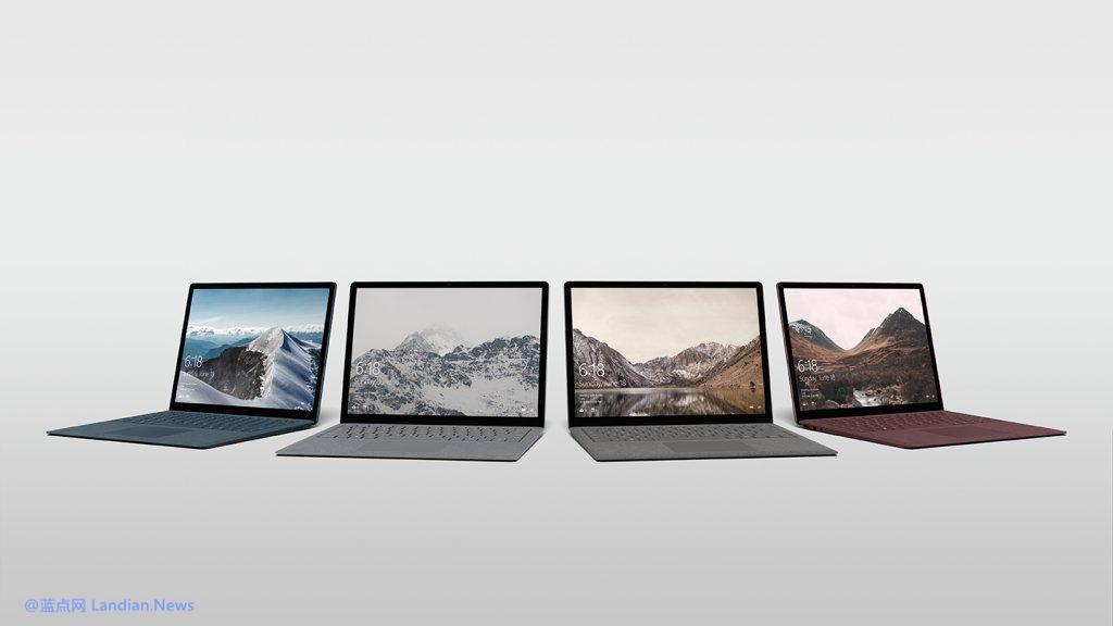 微软即将发布的硬件新品Surface Laptop渲染图曝光