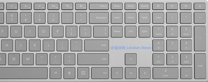 129美元:微软指纹识别键盘现在已经上市开卖