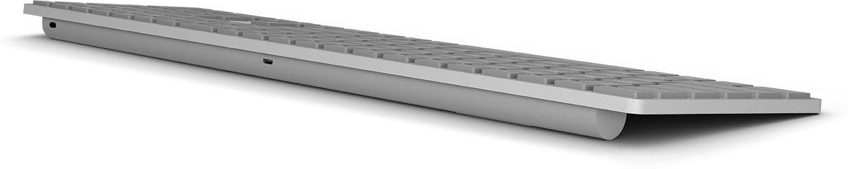 微软将发布带有指纹识别的无线蓝牙键盘