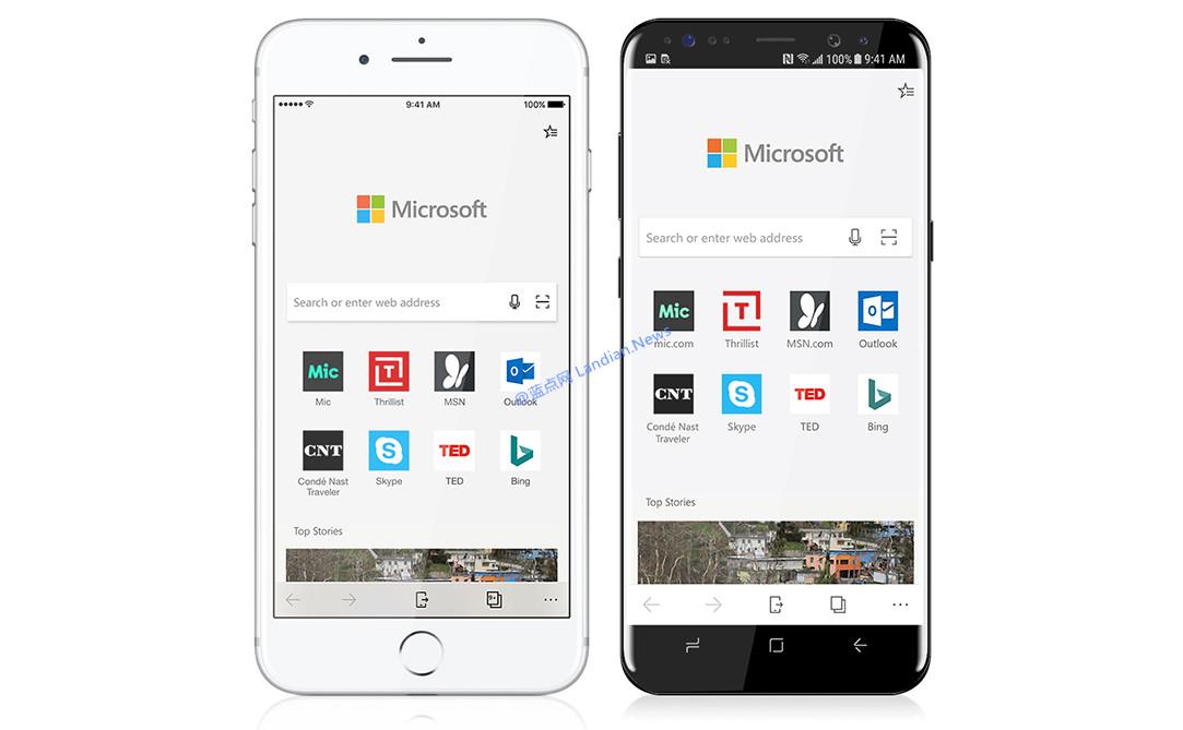 微软提醒大家别只关注Microsoft Edge新版,其实还有Android和iOS版呀