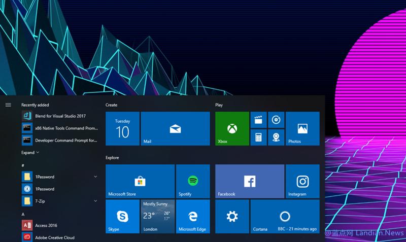 微软面向周年更新版发布KB4457131号累积更新