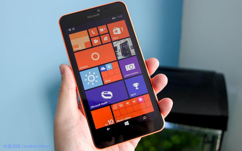 微软宣布结束对Lumia 640和640 XL版的支持
