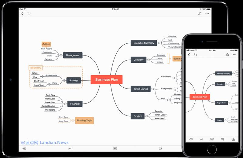 知名思维导图应用XMind上线iOS版并正在限免