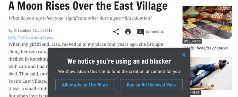 谷歌推出资助计划帮助网站因广告屏蔽而造成的损失