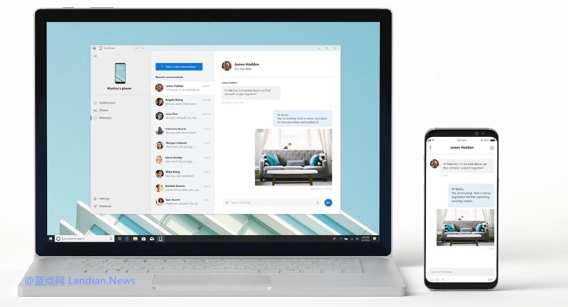 微软表示愿和苹果合作加强Windows 10与iPhone的连接