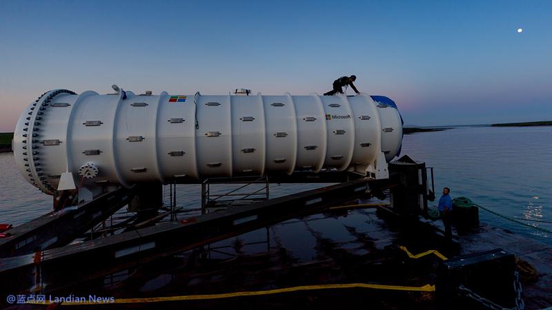 微软放在海里的胶囊数据中心被捞上来啦 除了长点贝类和藻类完全没问题