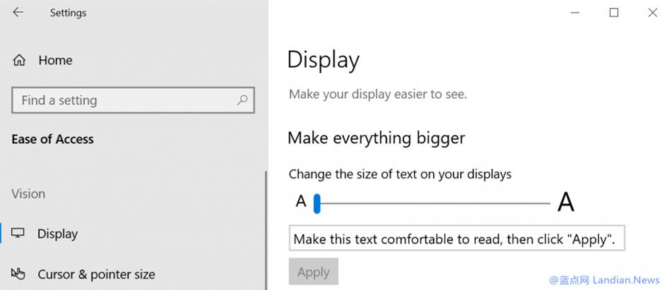 微软发布Windows 10 Preview Build 17692(RS5)版