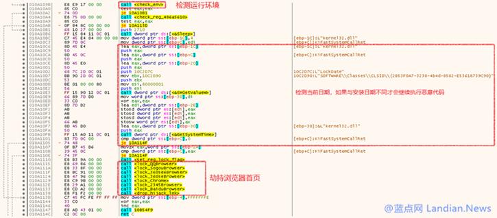 后门病毒通过国内多个知名下载站传播并劫持浏览器主页