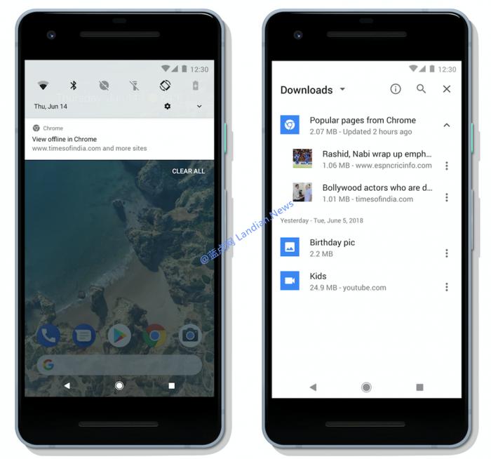 安卓版谷歌浏览器开始支持在线缓存新闻供离线阅读