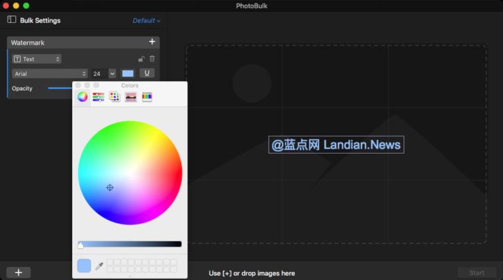简单易用的水印及批处理工具PhotoBulk for Mac介绍