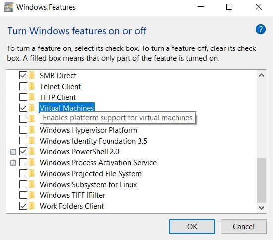微软似乎正在开发不同于HYPER-V服务的新虚拟机平台