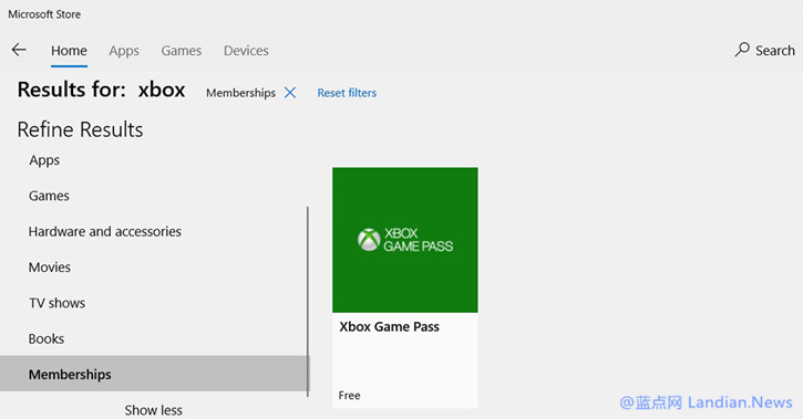 微软正在灰度测试Windows 10应用商店的时间线功能