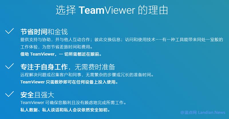 远程控制软件TeamViewer正版促销 商业版低至1676元