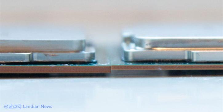 英特尔第9代酷睿处理器PCB版厚度暴增防止意外压断