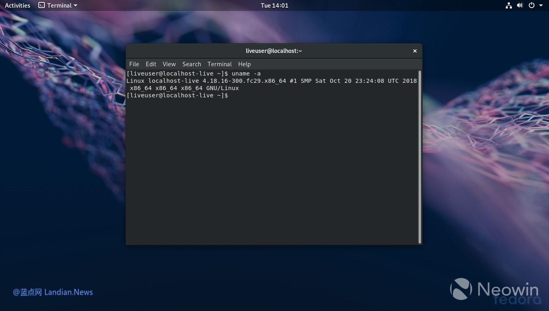 15周年纪念日 支持模块化安装的Fedora 29正式发布