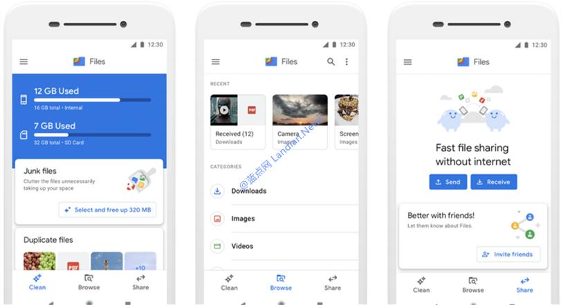 谷歌更新Files Go文件管理器并将其重命名为谷歌文件