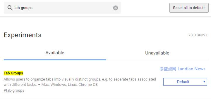 谷歌浏览器正在测试标签组功能 可以批量选取和拖动等