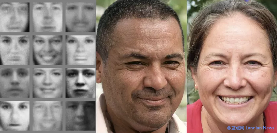 人工智能技术已经可以创建达到以假乱真的真人面孔